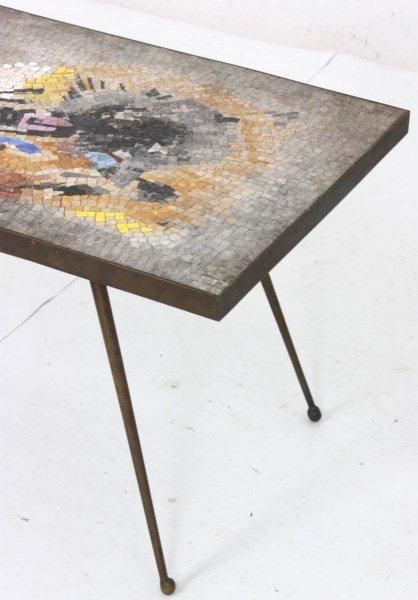 Salviati Mosaic & Bronze Coffee Table - 5