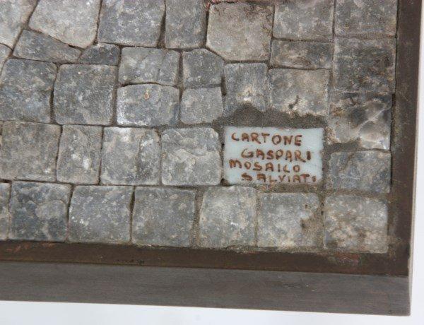 Salviati Mosaic & Bronze Coffee Table - 6
