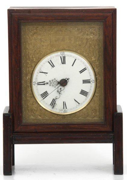 Chinese Double Fusee Teak Bracket Clock - 3
