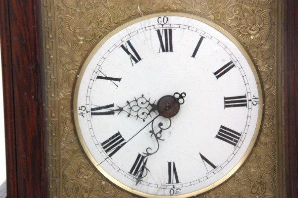 Chinese Double Fusee Teak Bracket Clock - 4