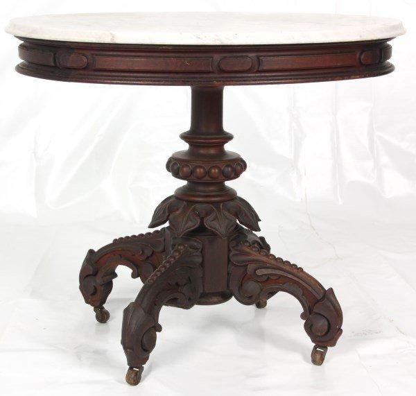 Thomas Brooks Marble Top Table - 2