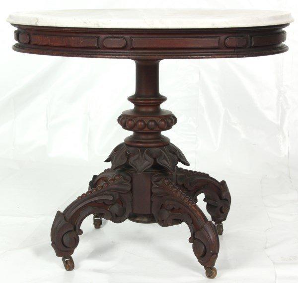 Thomas Brooks Marble Top Table - 3