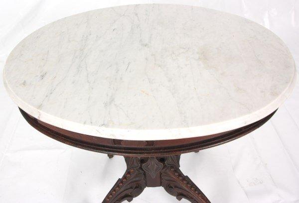 Thomas Brooks Marble Top Table - 8