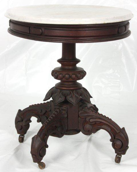 Thomas Brooks Marble Top Table - 9