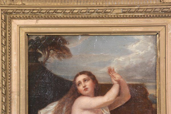 Oil on Canvas Painting of Susanna - 3