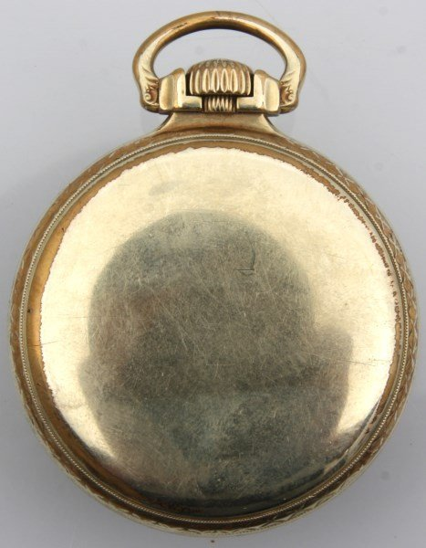 Waltham Gold Filled Open Face Pocket Watch - 2