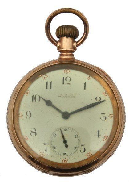 14K Waltham Riverside Pocket Watch