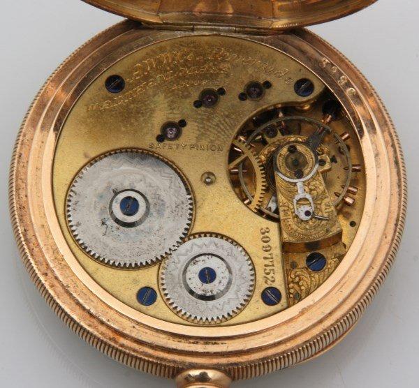 14K Waltham Riverside Pocket Watch - 3