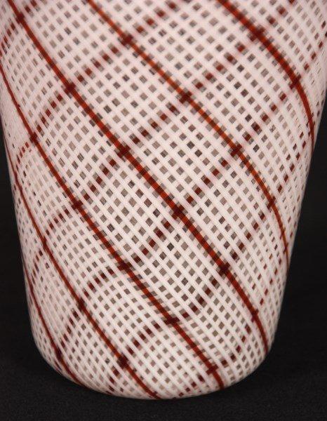 Dino Martens Filigrana Glass Striped Vase - 10