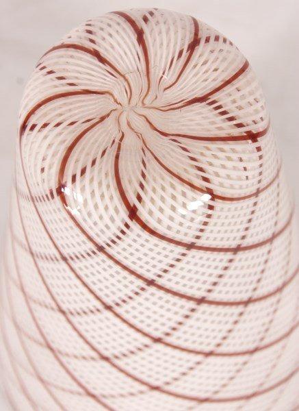 Dino Martens Filigrana Glass Striped Vase - 6