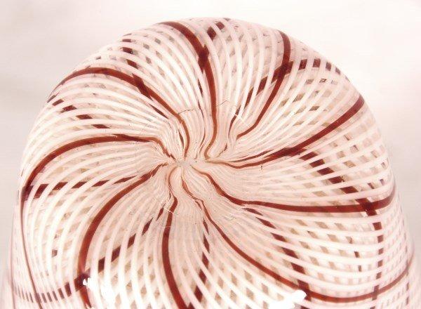 Dino Martens Filigrana Glass Striped Vase - 7