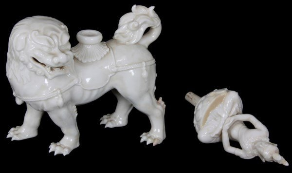 19th Century Dehua Blanc de Chine Decanter - 7
