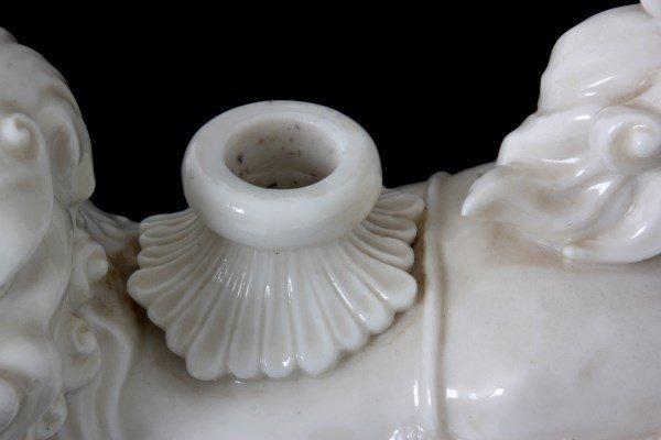 19th Century Dehua Blanc de Chine Decanter - 8