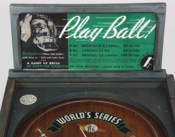 Rockola World Series 1 Cent Pinball - 8