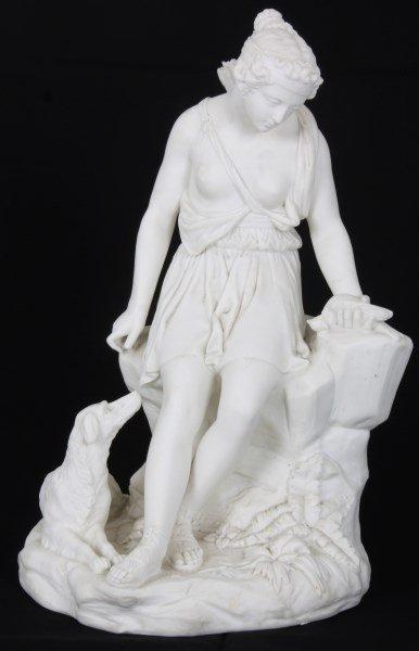 Minton Parian Ware – Diana The Huntress