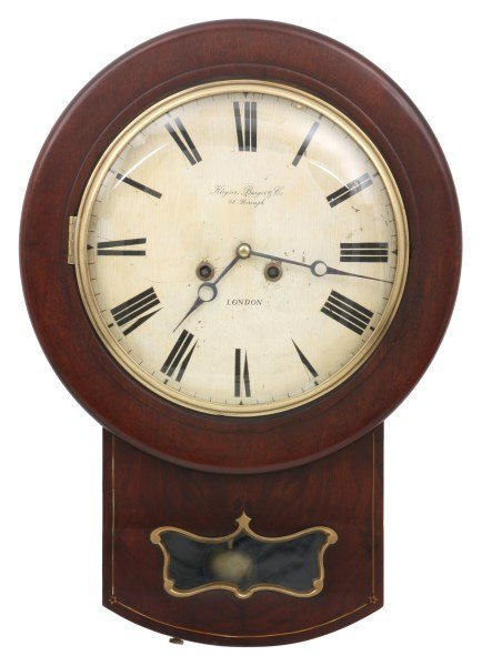 Kleyser Burger Co Fusee Wall Clock