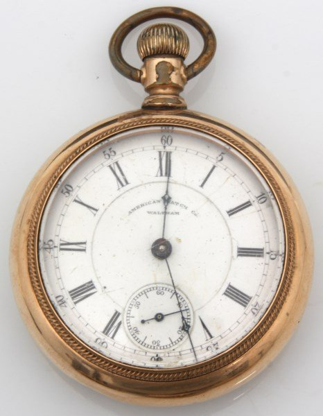 6 American Gold Filled Pocket Watches - 3