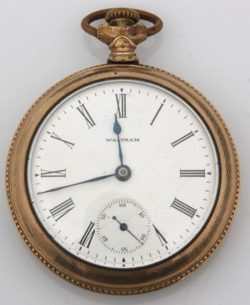 6 American Gold Filled Pocket Watches - 5