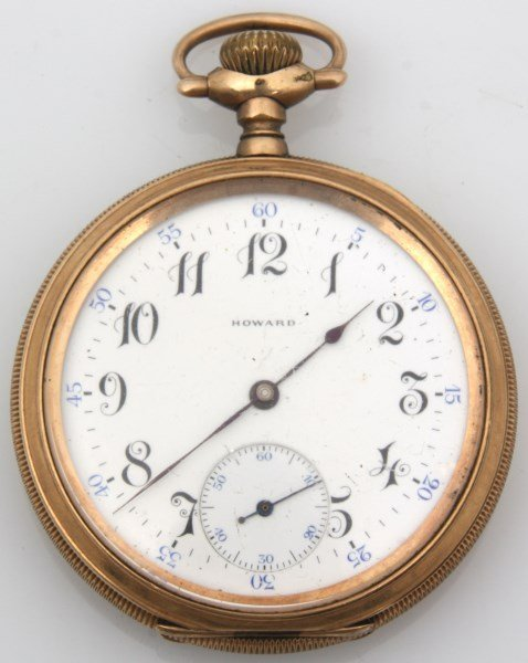 6 American Gold Filled Pocket Watches - 6