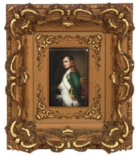 Hutschenreuther Porcelain Plaque – Napoleon I