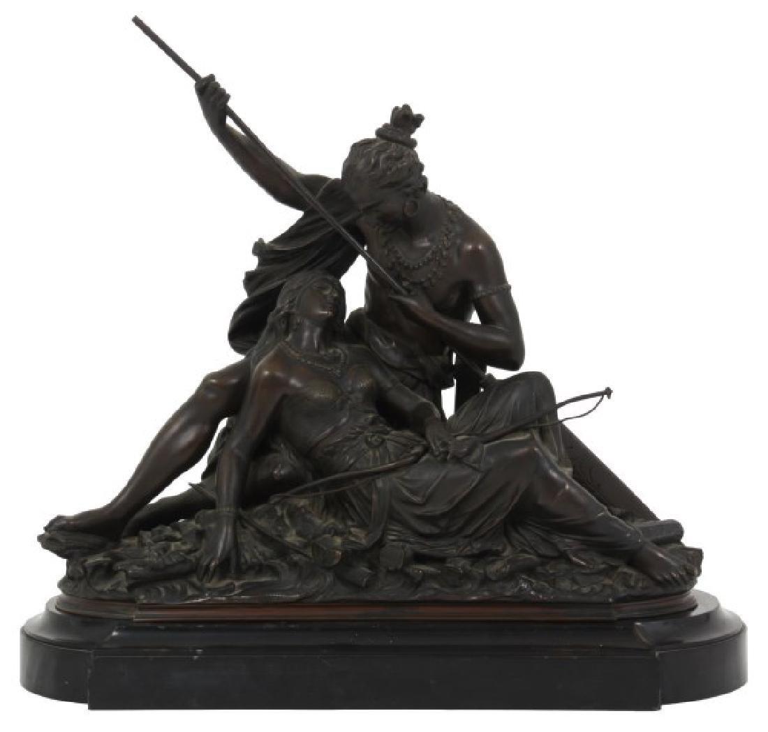 Desire Marie Bronze Indian Lovers