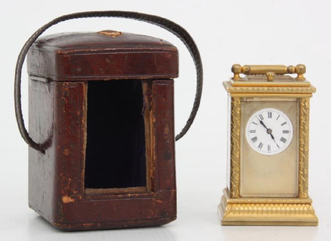Miniature Bronze Repeater Carriage Clock