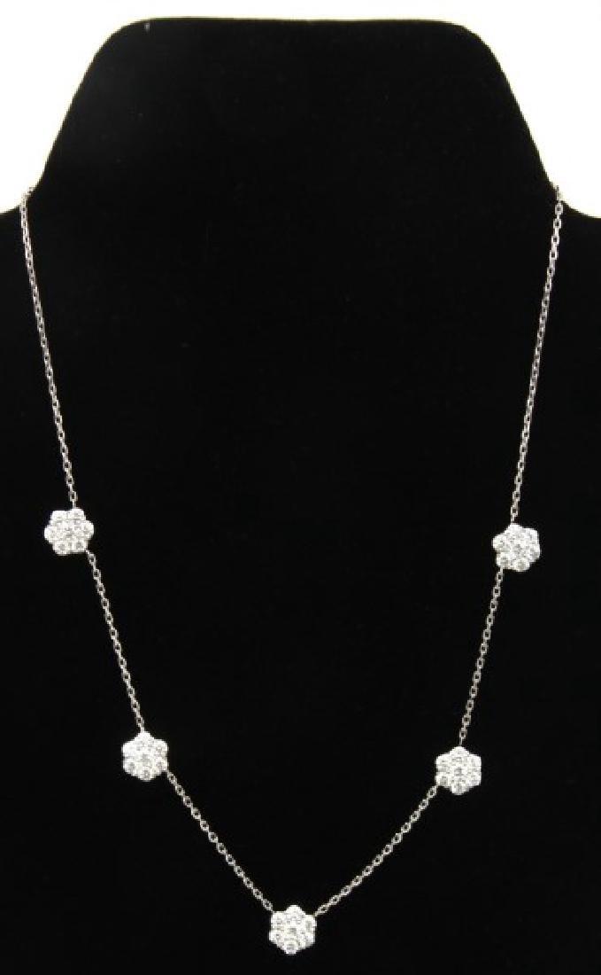 18K Van Cleef & Arpels Fleurette Necklace