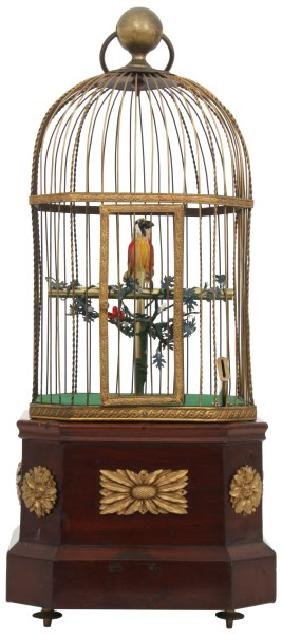 1 Cent Coin Op Singing Bird Cage