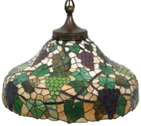 24 in. Leaded Grapevine Hanging Dome