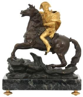 Bronze Sculpture Of Napoleon Bonaparte