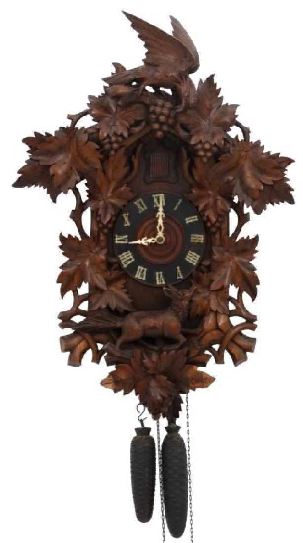 Black Forest 2 Wt. Cuckoo Wall Clock