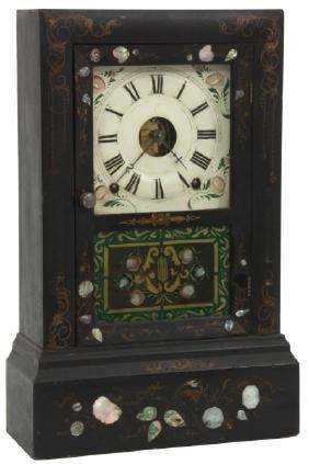 Seth Thomas Black Shelf Clock