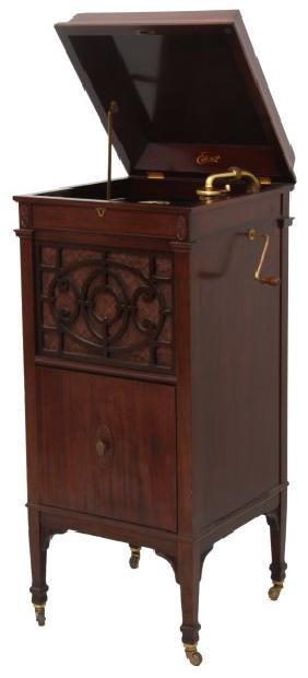Edison Floor Model C200 Cabinet Phonograph