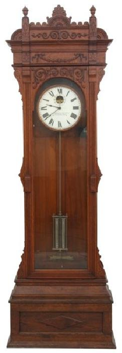 Oak Standard Electric Time Clock Regulator