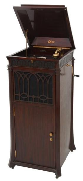 Edison Floor Model C250 Cabinet Phonograph