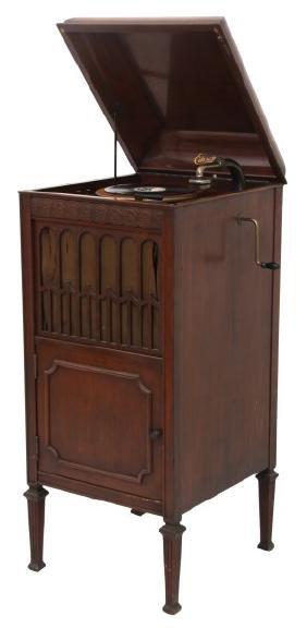 Edison Floor Model L19 Cabinet Phonograph