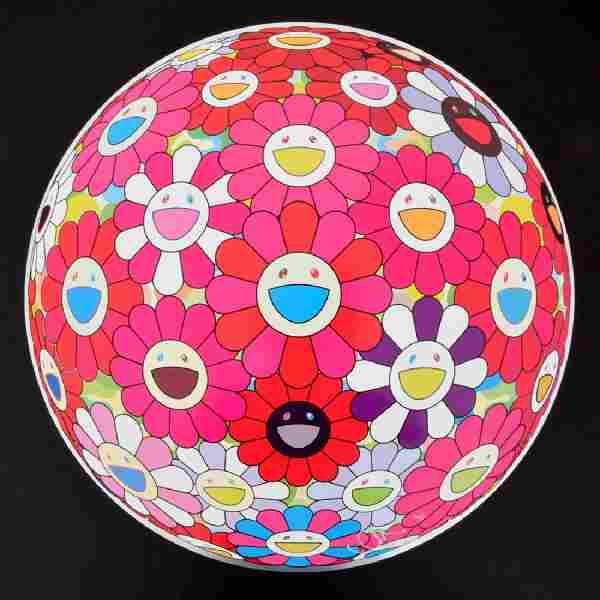 Start Session 1:Takashi Murakami FLOWERBALL Lithograph