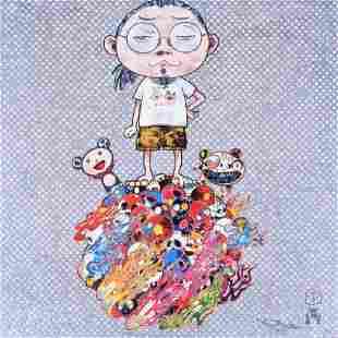 Takashi Murakami ME AND THE MR. DOBS Lithograph