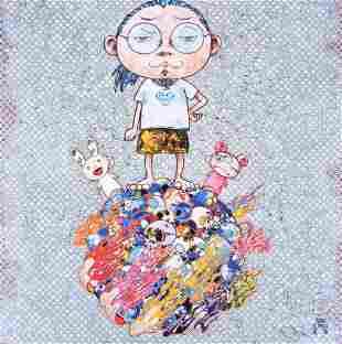 Takashi Murakami KAIKAI, KIKI & ME Lithograph