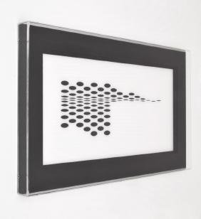 Bridget Riley Silkscreen on Plexiglass, Limited Edition