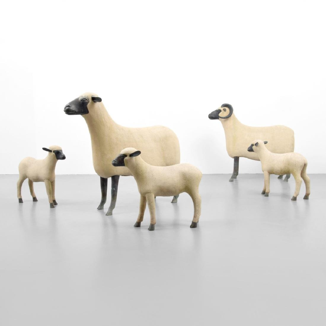 Francois - Xavier Lalanne Sheep, Flock of 5