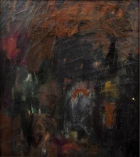 Frank Stella Abstract Painting, Original Work