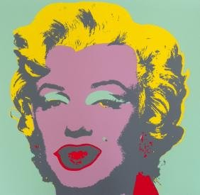 Andy Warhol (after) MARILYN Portfolio of 10 Prints