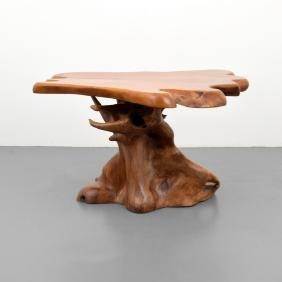 Freeform Table, Manner of George Nakashima