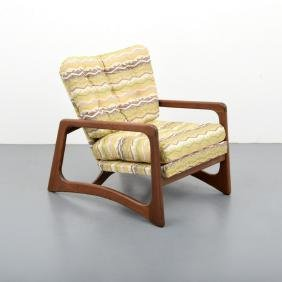 Lounge Chair Attributed to Adrian Pearsall