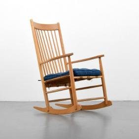 Rocking Chair, Manner of Hans Wegner