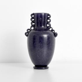 Large PULEGOSO Vase, Manner of Napoleone Martinuzzi