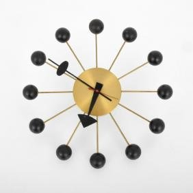 George Nelson Associates Inc. BALL Wall Clock