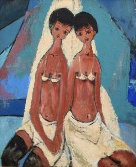 Nicholas Takis Painting, Original Work