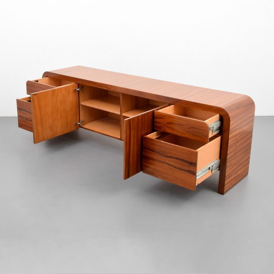 Large Vladimir Kagan Rosewood Cabinet - 7